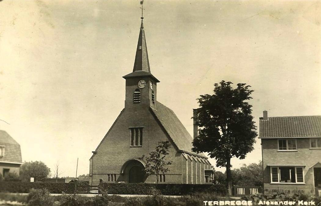 Alexanderkerk, Terbregge, ca. 1935