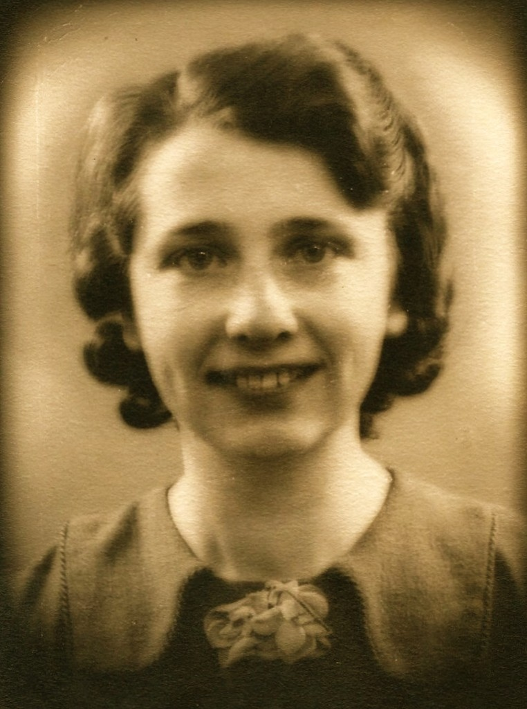 Elsje Bik (1914-1997) Foto gemaakt op 28 januari 1939