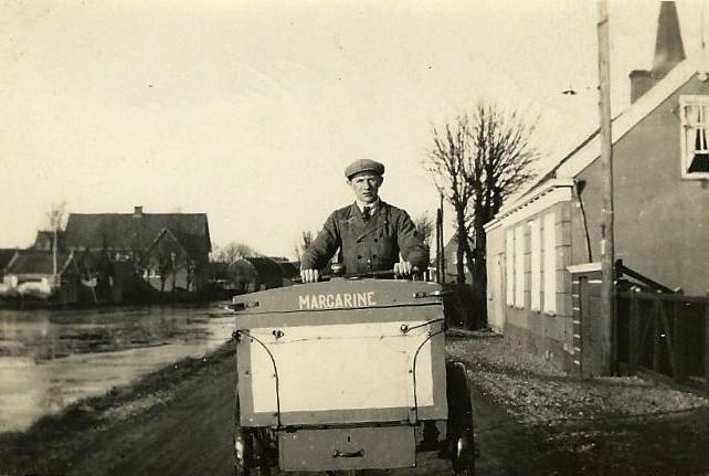 Dirk Plaizier Terbregge, Bergse Linker Rottekade bij zijn ouderlijk huis