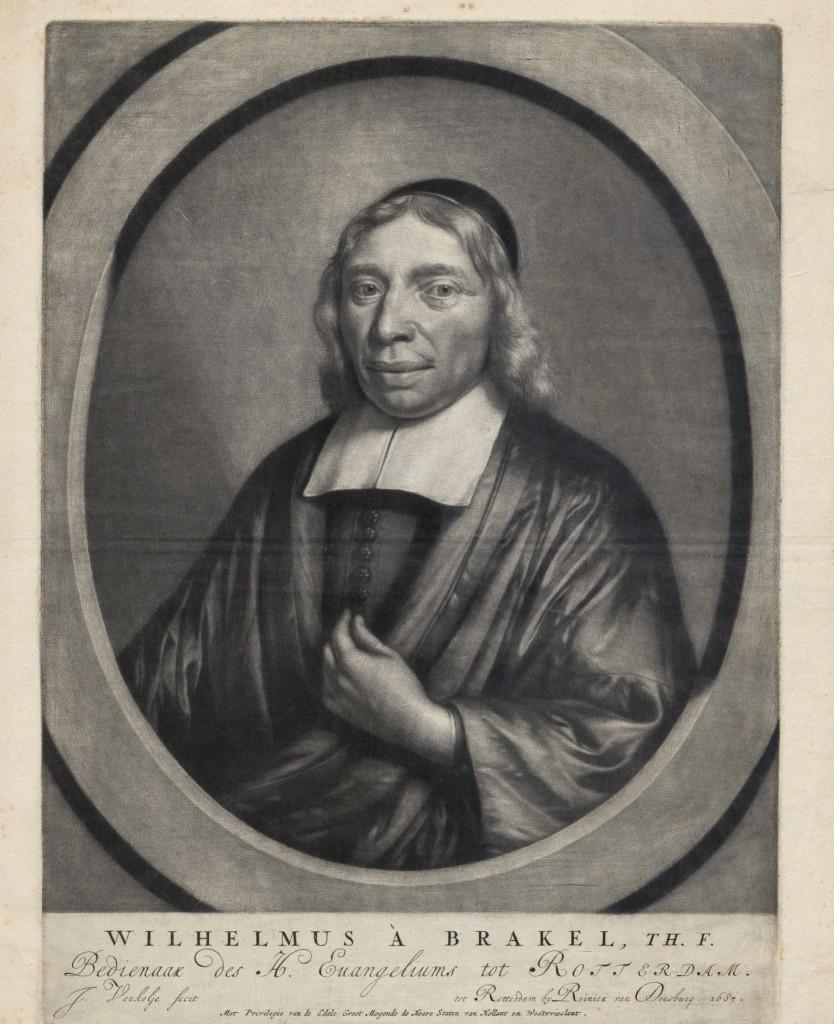 Wilhelmus à Brakel (1635-1711) Graveur: Jan Verkolje, 1687 www.geheugenvannederland.nl