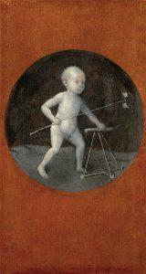 Hieronymus Bosch, Christuskind (achterzijde van De Kruisdraging)