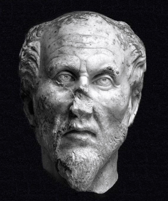 Plotinus, anoniem, Ostiense Museum, Ostia Antica, Rome